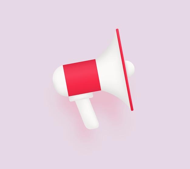 Mégaphone moderne