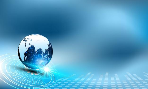 Meilleur concept internet d'entreprise globale de la série de concepts.