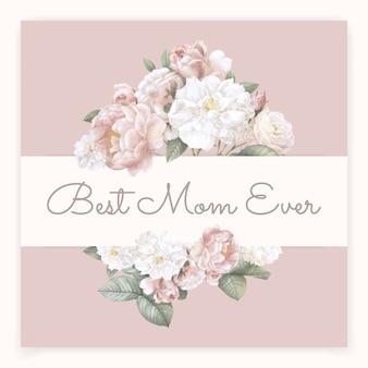Meilleur maman jamais lettrage