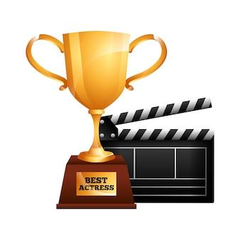 Meilleur trophée d'actrice
