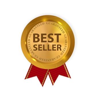 Meilleur vendeur de label d'or.