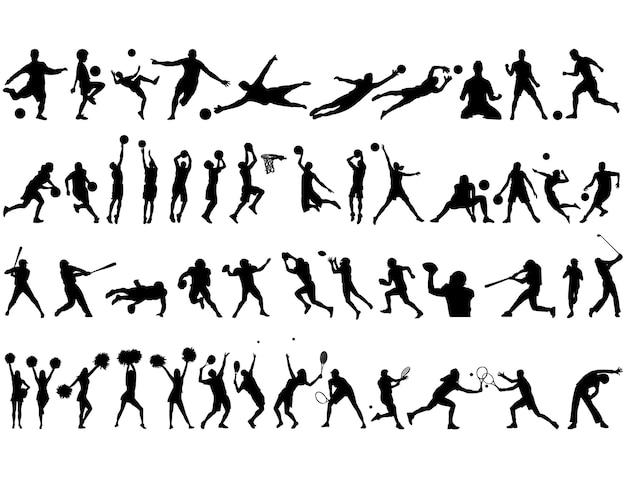 Meilleure collection de silhouettes sportives
