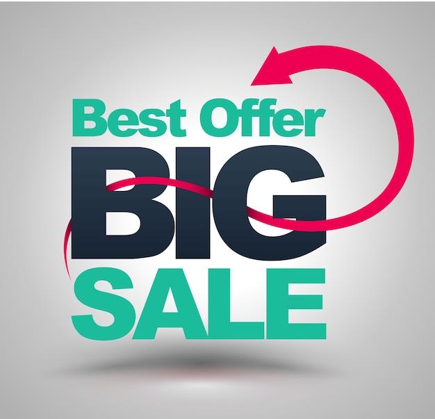 Meilleure offre big sale.