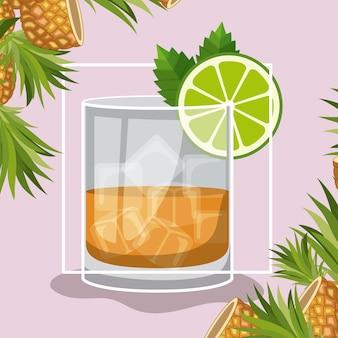 Meilleures boissons cocktail tropical