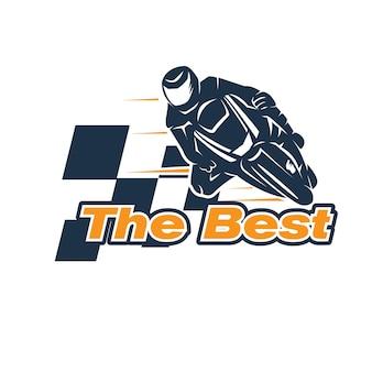 Les meilleurs designs de logo de rider rapide