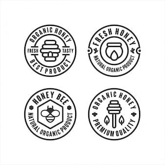 Meilleurs logos de miel bio
