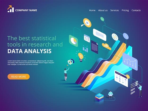 Les meilleurs outils statistiques dans l'illustration de la recherche et de l'analyse des données