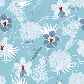 Mélange doux et doux de fleur de graden de monotone de floraison