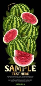 Mélange de fruits avec des feuilles