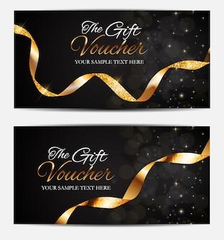 Membres de luxe, modèle de carte-cadeau