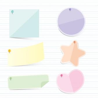 Memo pastel paper