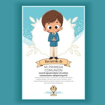 Mémoire du premier enfant de communion