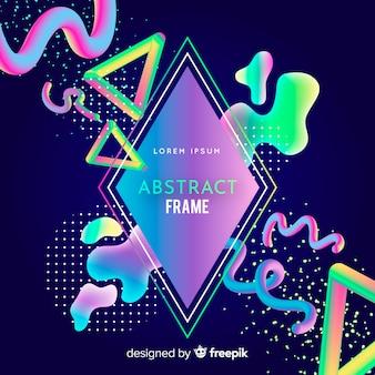 Memphis abstract frame
