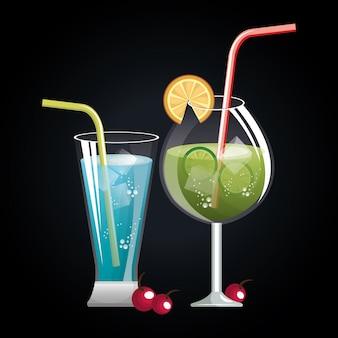 Menu cocktails liste bar