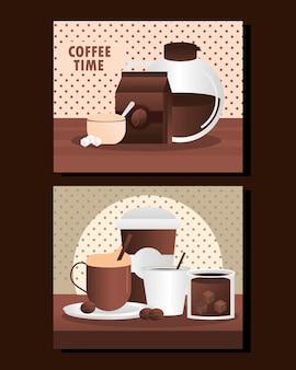 Menu de l'heure du café