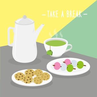 Menu repas pause produits laitiers manger des boissons menu