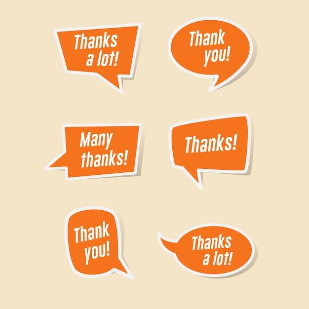 Merci bulles de dialogue