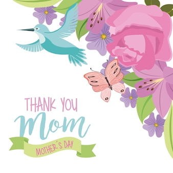 Merci maman carte