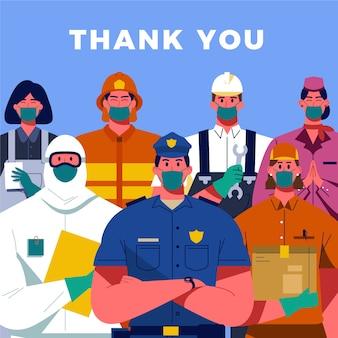 Merci pour votre protection