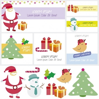 Merry chistmas cartes
