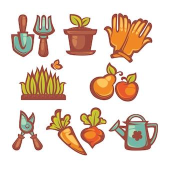 Mes petits objets de ferme et de jardinage