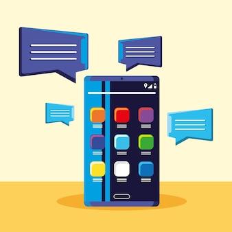 Messagerie marketing sur smartphone
