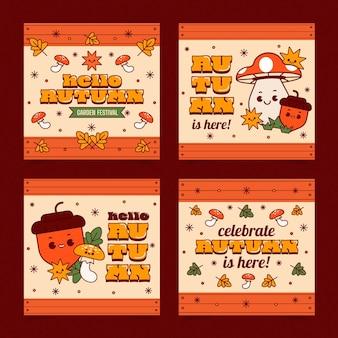 Messages instagram plats d'automne
