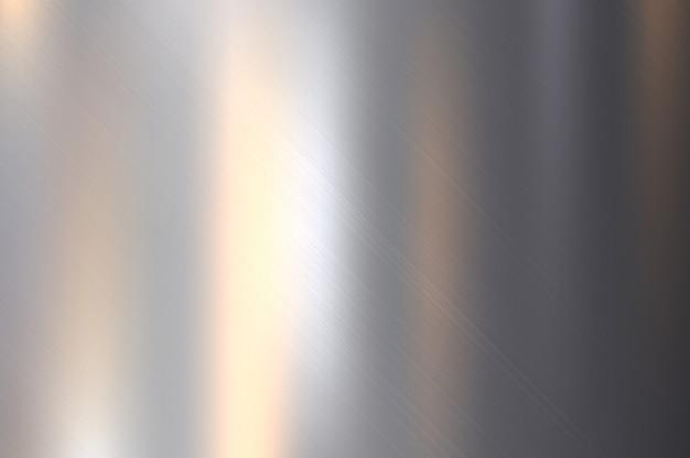 Métal, texture en acier inoxydable avec réflexion