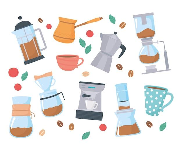 Méthodes de préparation du café, méthode alternative de préparation du fond