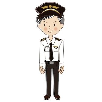 Métier homme pilote