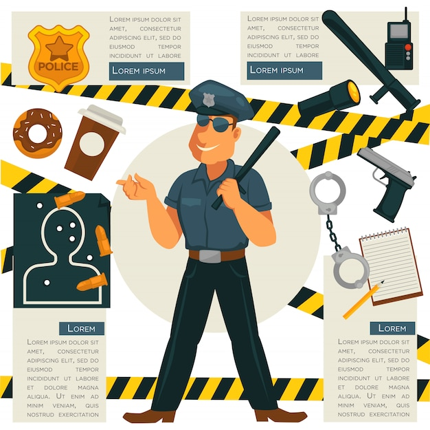 Métier de policier