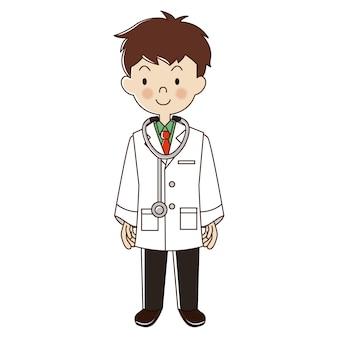 Métiers homme docteur