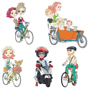 Mettre les gens à vélo