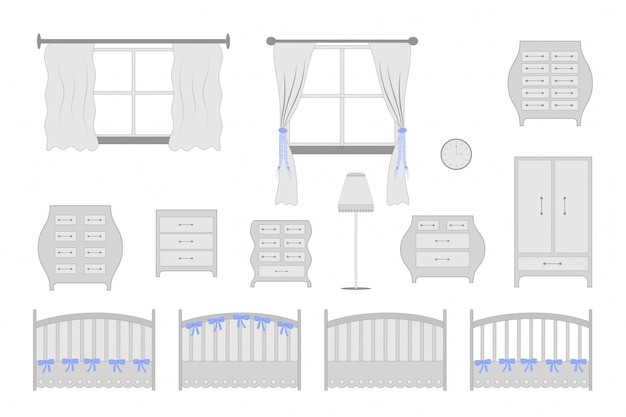 Meubles de chambre d'enfants