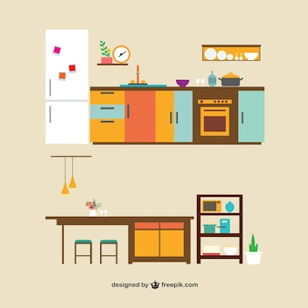 Les meubles de cuisine