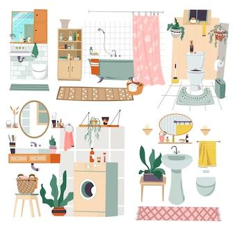 Meubles de design d'intérieur et décoration de salle de bain