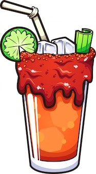 Michelada mexicaine