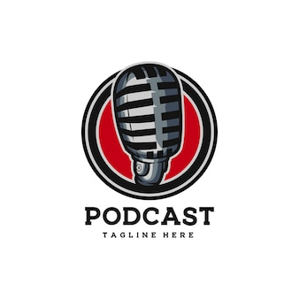 Micro en ligne de médias radio drôles de podcast