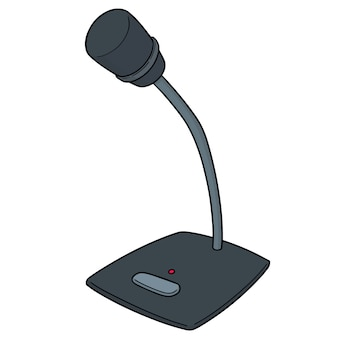 Microphone de bande dessinée