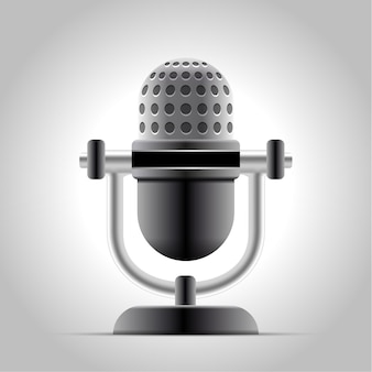 Microphone isolé