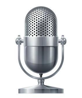 Microphone en métal