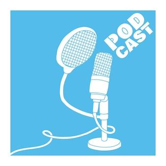 Microphone de studio pour les émissions de podcasts microphone de table sur pied
