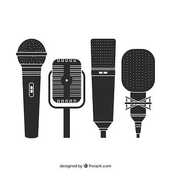 Microphones rétro