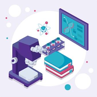 Microscope et équipement de laboratoire