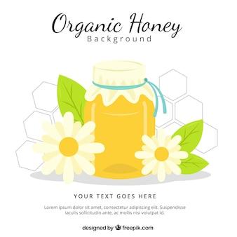 Miel bio, prêt à manger