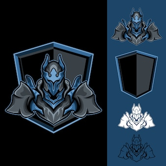 Mighty lord: logo e-sport gaming