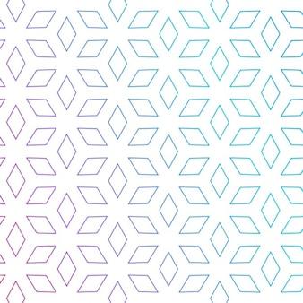 Mignon forme de losange motif de fond motif minimal fond
