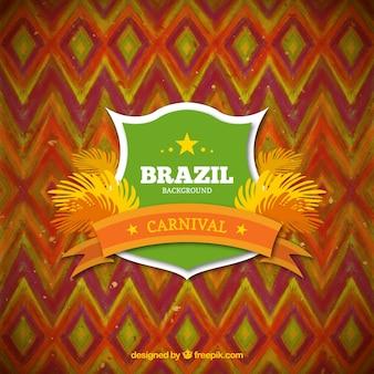 Mignon hésité brésil carnaval fond
