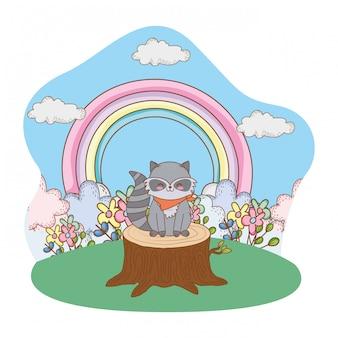 Mignon petit dessin animalier