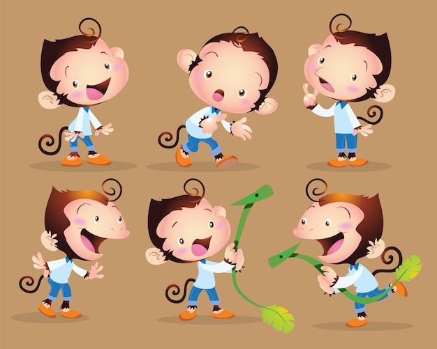 Mignon petit singe